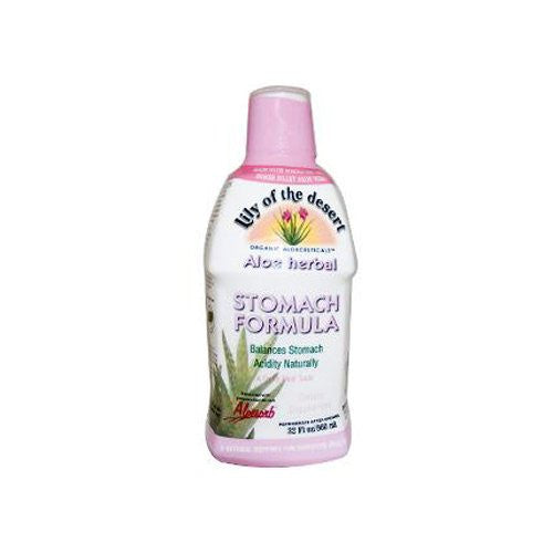 Lily Of The Desert Aloe Vera Gel Stomach Formula (Organic) 32 oz Gel