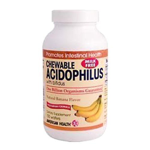 American Health Acidophilus Probiotics, Banana, 100 Count