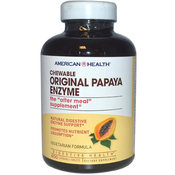 American Health Papaya Enzyme Original 600Tab