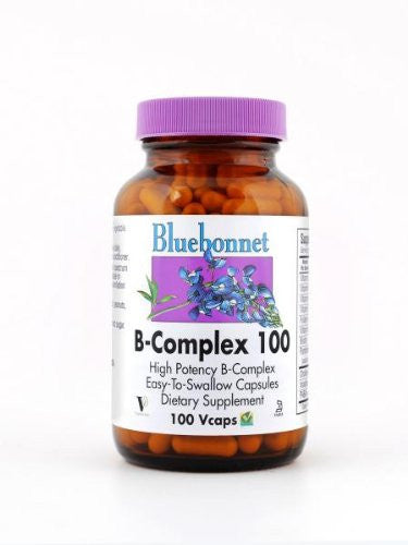 B-Complex 100 By Bluebonnet - 100 Vegetarian Capsules