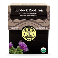 Burdock Root Tea - Organic Herbs - 18 Bleach Free Tea Bags