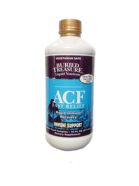 Buried Treasure Acute Cold and Flu Liquid, 16 Ounce
