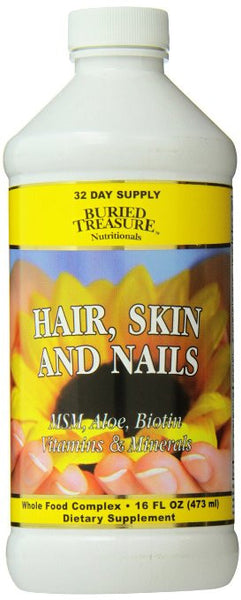 Buried Treasure Hair Skin and Nails Complete, 16 Fluid Ounce