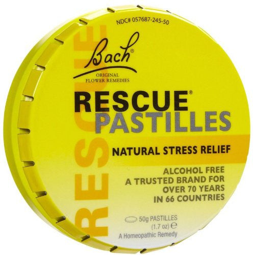 Bach Remedies Rescue Remedy Pastille, 50 Gram