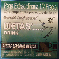 Beauti-leaf Dietas' Special Drink 30 Tea Bags
