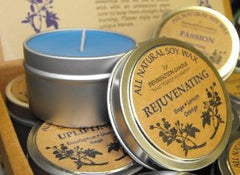 All Natural Soy Wax by Bennington Candle Travel Tin Size