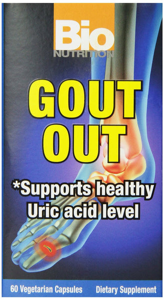 Bio Nutrition Gout Out Vegi-Caps, 60 Count