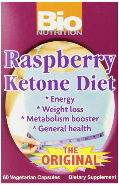 Bio Nutrition Ketone Diet Vegi-Caps, Raspberry, 60 Count