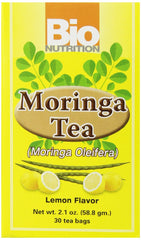 Bio Nutrition Moringa Tea Bags, 30 Count