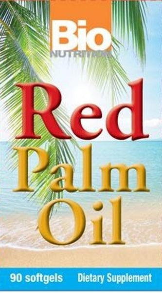 Bio Nutrition Red Palm Oil Caps 90 Ct