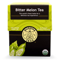 Bitter Melon Tea - Organic Herbs - 18 Bleach Free Tea Bags