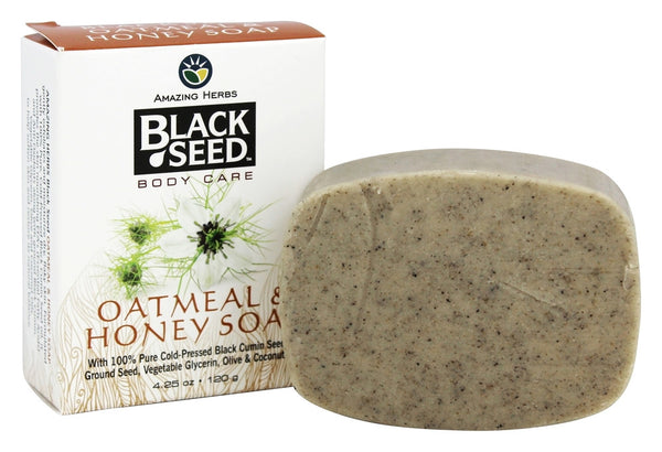 Blackseed Oatmeal& Honey Soap