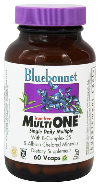 Bluebonnet Multi One Vegetable Capsules, 60 Count