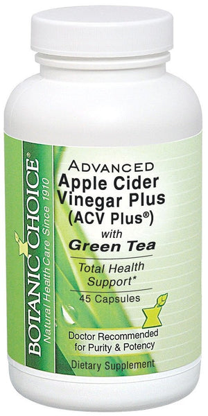 Botanic Choice Advanced ACV Plus with Green Tea, 45 Count
