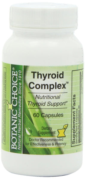 Botanic Choice Thyroid Complex Capsules, 60-Count Bottle
