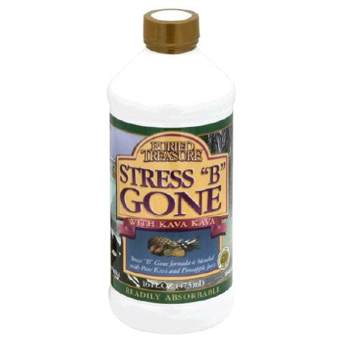Buried Treasure Stress B Gone Liquid, 16 Ounce