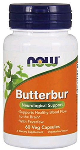 NOW Foods Butterbur 60 VegiCaps