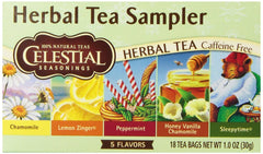 Celestial Seasonings Herbal Tea Sample, 18 Count