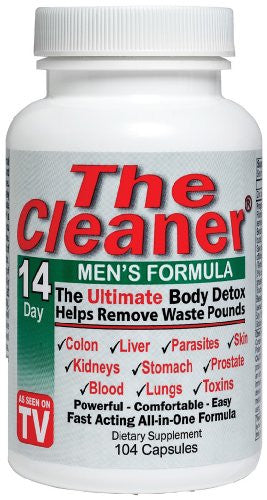 Century Systems - The Cleaner 14 Day Mens Formula, 104 capsules