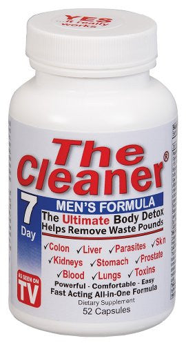 Century Systems - The Cleaner 7 Days Mens Formula, 52 veggie caps