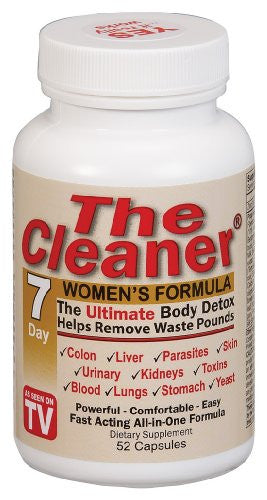 Century Systems - The Cleaner 7 Days Womens Formula, 52 veggie caps