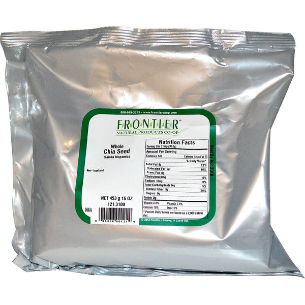 Frontier Chia Seed Whole 1 lb
