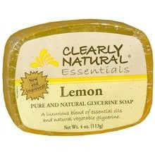 Clearly Natural Glycerine Soap Bar Lemon - 4 Oz