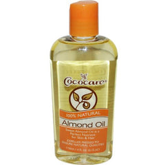 Cococare 100% Natural Almond Oil 4 oz