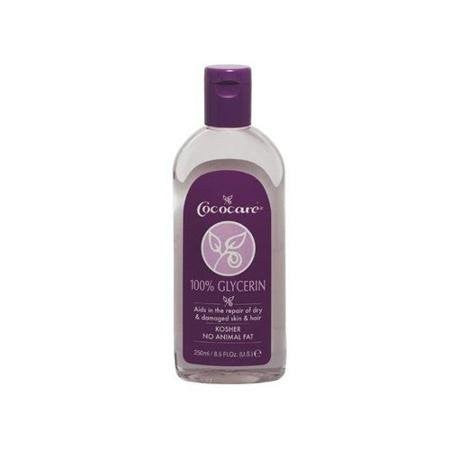 Cococare 100 Percent Glycerin For Damaged Hair - 8.5 Oz