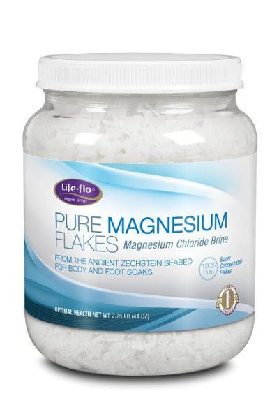 Life Flo Pure Magnesium Flakes 44 Ounce