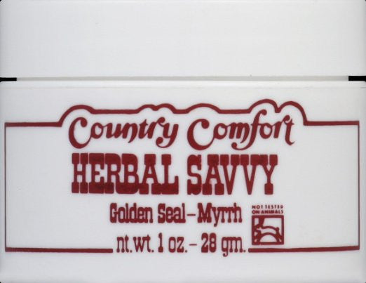 Country Comfort Herbal Savvy Golden Seal Myrrh