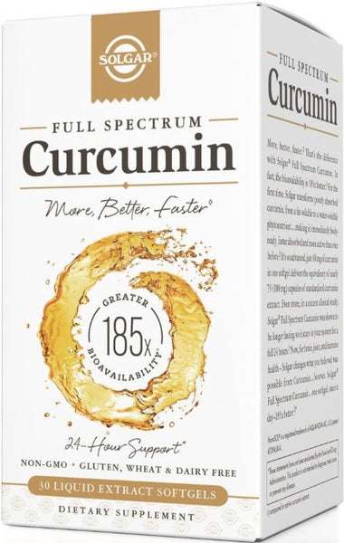Solgar Curcumin 185x 40 mg 30 Softgel