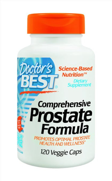 Doctor's Best Comprehensive Prostate Formula,Veggie Caps, 120-Count