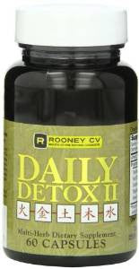 DAILY DETOX II 60 CAPS