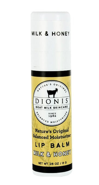 Dionis Goat Milk Skincare - Lip Balm Milk & Honey - 0.28 oz