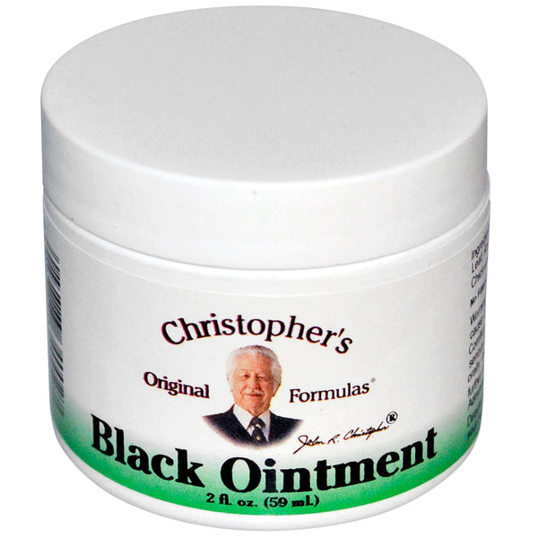 Dr. Christophers Formula Black Drawing Ointment 2 Oz