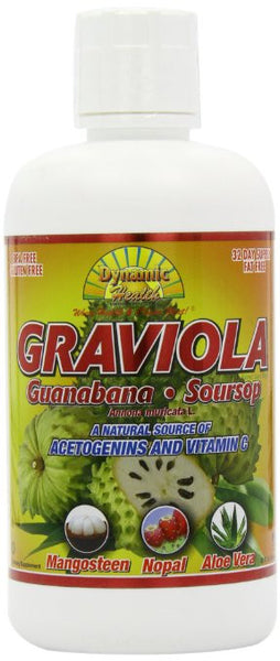 Dynamic Health Graviola Juice Blend, 32 Fluid Ounce