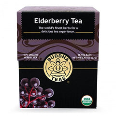 Elderberry Tea - Organic Herbs - 18 Bleach Free Tea Bags