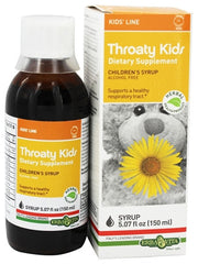 Erba Vita Throaty Kids Syrup, 5.07 Fluid Ounce