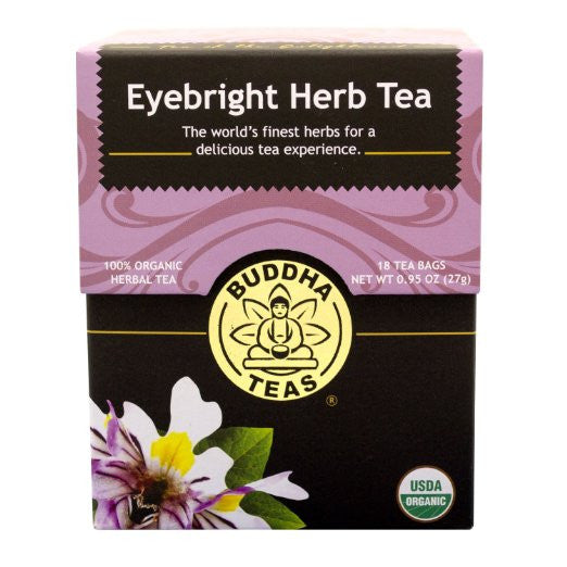 Eyebright Herb Tea - Organic Herbs - 18 Bleach Free Tea Bags