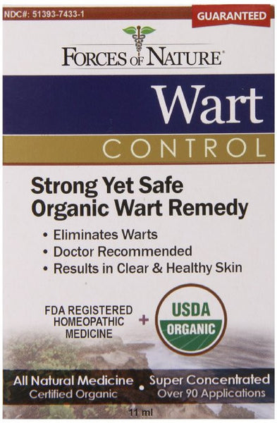 Forces of Nature Wart Control, 11 mL