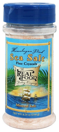 Funfresh Foods Real Food Trading Company Himalayan Pink Sea Salt, 8.75-Ounce