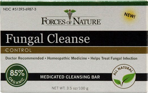 Forces Of Nature Fungal Control Cleanse Bar -- 3.5 oz