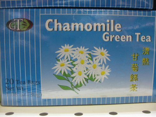 GTR - Chamomile Green Tea Bag (Pack of 1)
