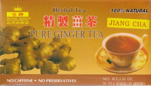 Royal King Ginger Tea 20 Tea Bags