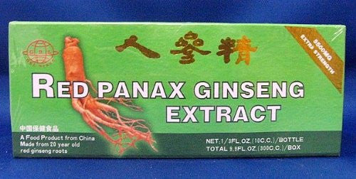 Global 20 Year Old Red Panax Ginseng Extract -Extra Strength- 10ml X 30 Bottles