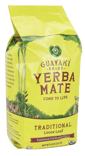 Guayaki Traditional Loose Leaf Yerba Mate, 8-Ounce Package