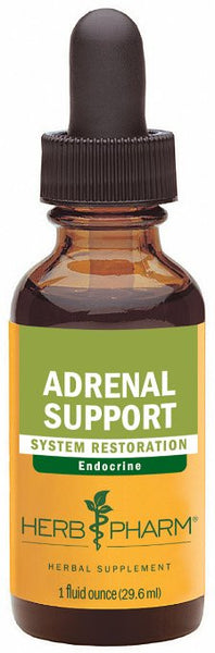 Herb Pharm Adrenal Support Herbal Formula with Eleuthero and Licorice Extracts - 1 Ounce
