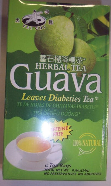 Herbal Tea Guava Leaves Diabeties Tea 12 Tea Bags