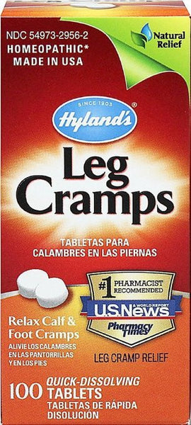 Hyland's Relax Calf & Foot Cramps 100 Tablets